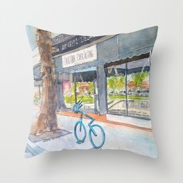 Morning Reflections at Stateside Crafts Throw Pillow