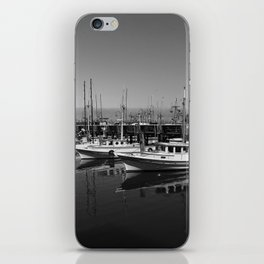 Boats At Fishermans Wharf San Francisco iPhone Skin