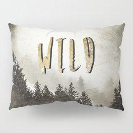 Wild Gold Forest Pillow Sham
