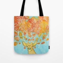 Autumn Deer Tote Bag