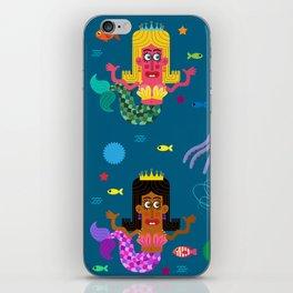 Mermaid Sisters iPhone Skin