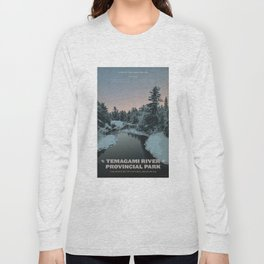 Temagami River Provincial Park Long Sleeve T-shirt