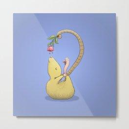 Yoga Rat, Day 8 Metal Print