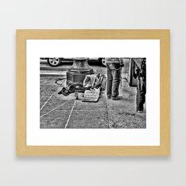 Cup of Change Framed Art Print