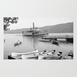 The Sagamore Lands at Roger's Slide Boathouse Rug