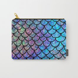 Colorful Mermaid Scales Carry-All Pouch