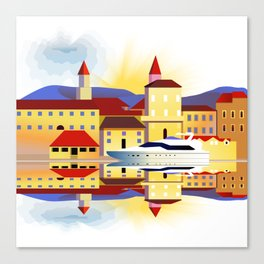 Dalmatia Canvas Print