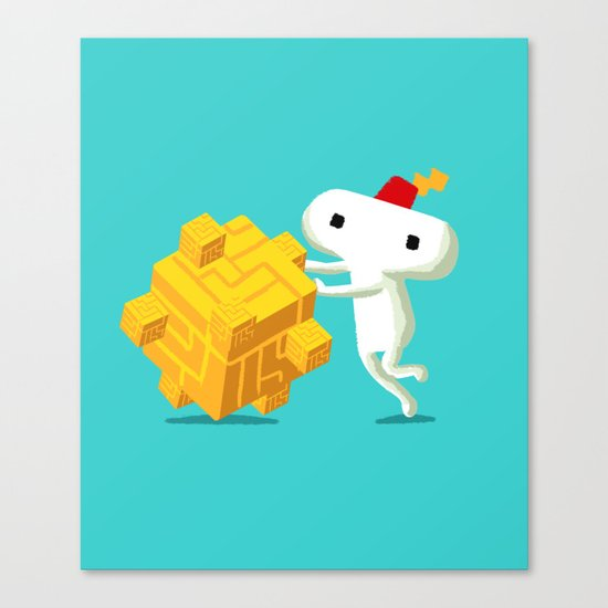 The Prince with a FEZ Canvas Print