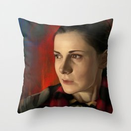Molly Hooper Throw Pillow