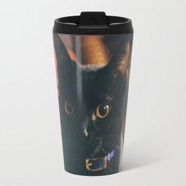 Black Cat I Travel Mug