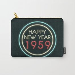 Happy New Year 1959! Carry-All Pouch
