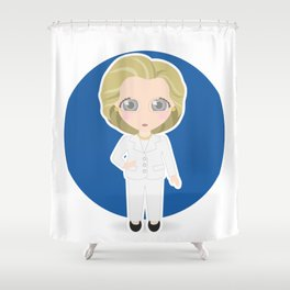 Hillary Clinton Shower Curtain