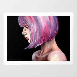 Lucy Petal-2012  Art Print