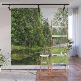 Hoh Rainforest Scene Wall Mural