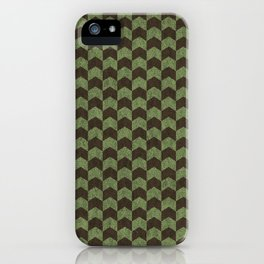 ArrowHead - Green And Brown iPhone Case