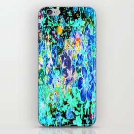 Azure flight iPhone Skin
