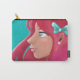 Pink Flow Carry-All Pouch