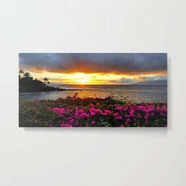 West Maui Sunset Metal Print