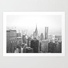 New York City Chrysler Building Art Print