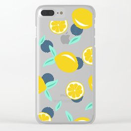 Lemon dots #society6 #decor #buyart Clear iPhone Case