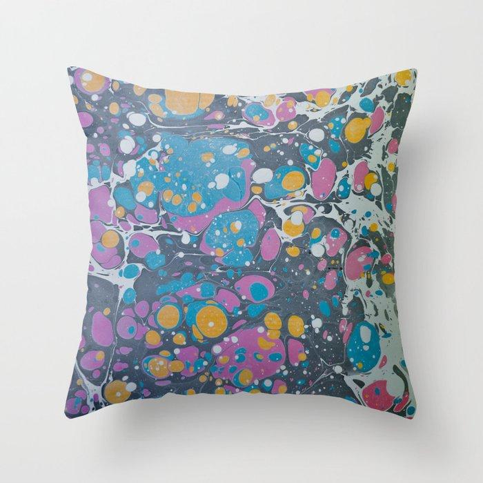 Marble Print #7 Throw Pillow