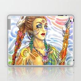 Cavewoman Laptop & iPad Skin