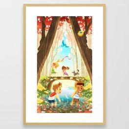 The Crossing - In The Morning Framed Art Print