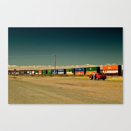 Red Challenger  Canvas Print