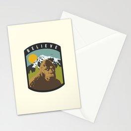 Bigfoot Patch Stationery Cards