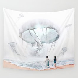 In Suspension Wall Tapestry