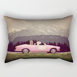 NEVER STOP EXPLORING VII Rectangular Pillow