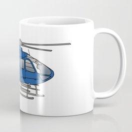Blue helicopter Coffee Mug