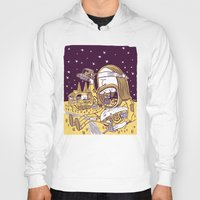 hippy Hoodies featuring Giant Hippy by Josh Quick