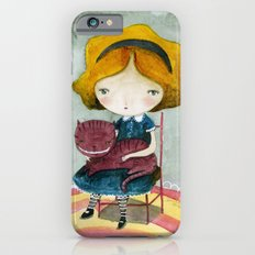 Alice In Watercolorland iPhone 6s Slim Case