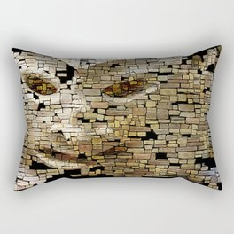 Mudman III Rectangular Pillow