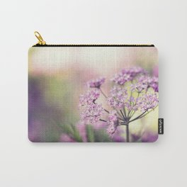 Pink Floral Plant Carry-All Pouch