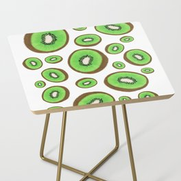 Fresh & Fuzzy Side Table