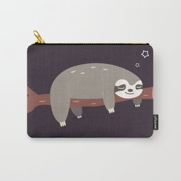 Sloth card - good night Carry-All Pouch