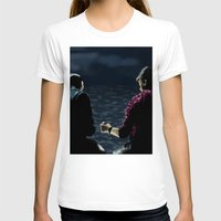 stargate T-shirts featuring John and Rodney on the Pier by dammitspawk