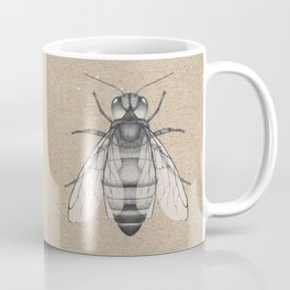 Bee pencil drawing Coffee Mug