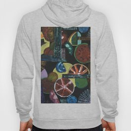 Abstract Fruits Hoody