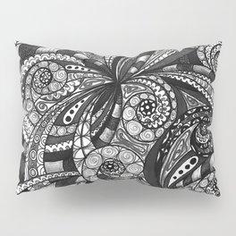 Drawing Floral Zentangle G6 Pillow Sham