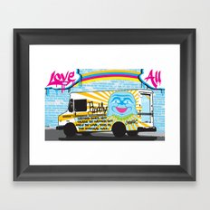 Love All Framed Art Print