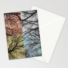Trees // Squared Stationery Cards