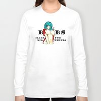 hentai Long Sleeve T-shirts featuring Hentai girl boobs funny quote by Peter Reiss