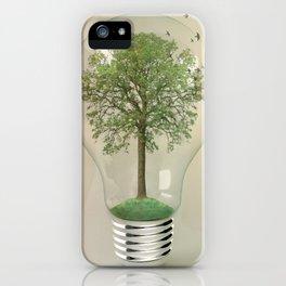 green ideas 02 iPhone Case
