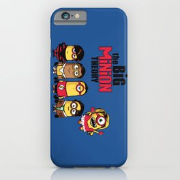 The Big Minion Theory iPhone Case