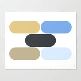 laying down Canvas Print