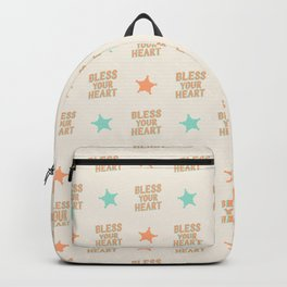Southern Snark: Bless your heart Backpack