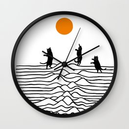 Good Morning Meow 2 - Joy Wall Clock
